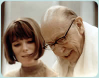 Adrienne Albert with Igor Stravinsky